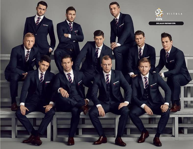 Piłkarze reprezentacji Polski w kampanii marki Vistula