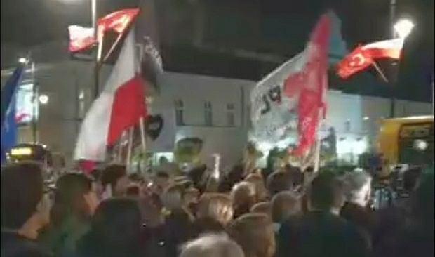 Protest w czasie wizyty Erdogana