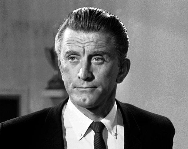 Kirk Douglas w roku 1962