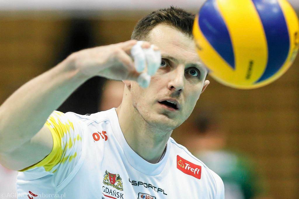 Lotos Trefl - BBTS Bielsko-Biała 2:3. Wojciech Grzyb