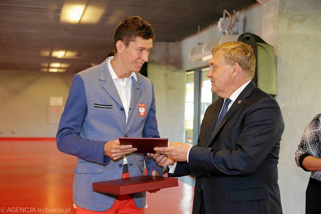 Uroczystość wręczenie stypendiów sportowych i olimpijskich