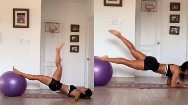 Mariela Bravo - trening nóg i pleców