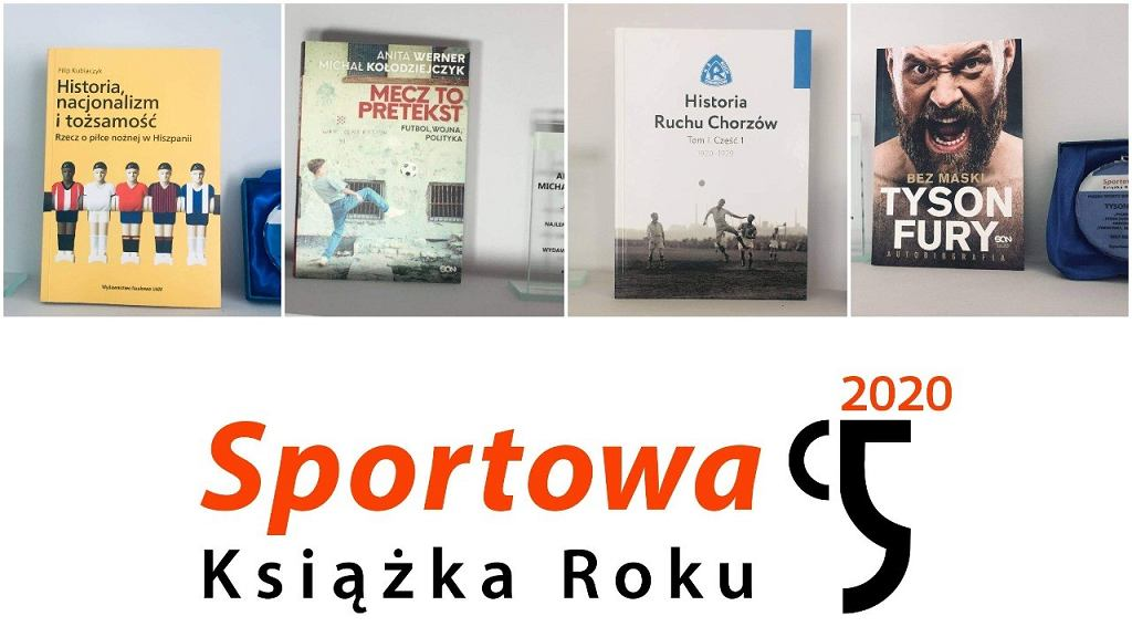 Laureaci plebiscytu Sportowa Książka Roku 2020