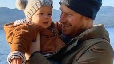 Książę Harry z synem