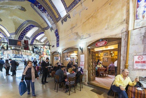 Wielki Bazar w Stambule, fot. prostok / shutterstock.com