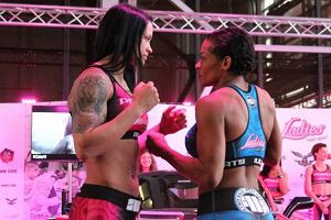 "Ladies Fight Night ""Five Points"". Katarzyna Lubońska lepsza od Nubii Nascimento!"