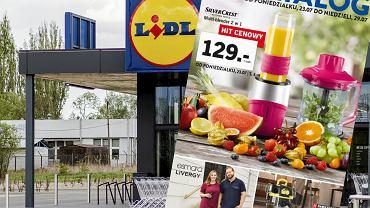 Gazetka Lidl 23-29 lipca 2018 - w aktualnej promocji znalazły się sprzęty ułatwiające zdrowe gotowanie, ubrania XXL i narzędzia