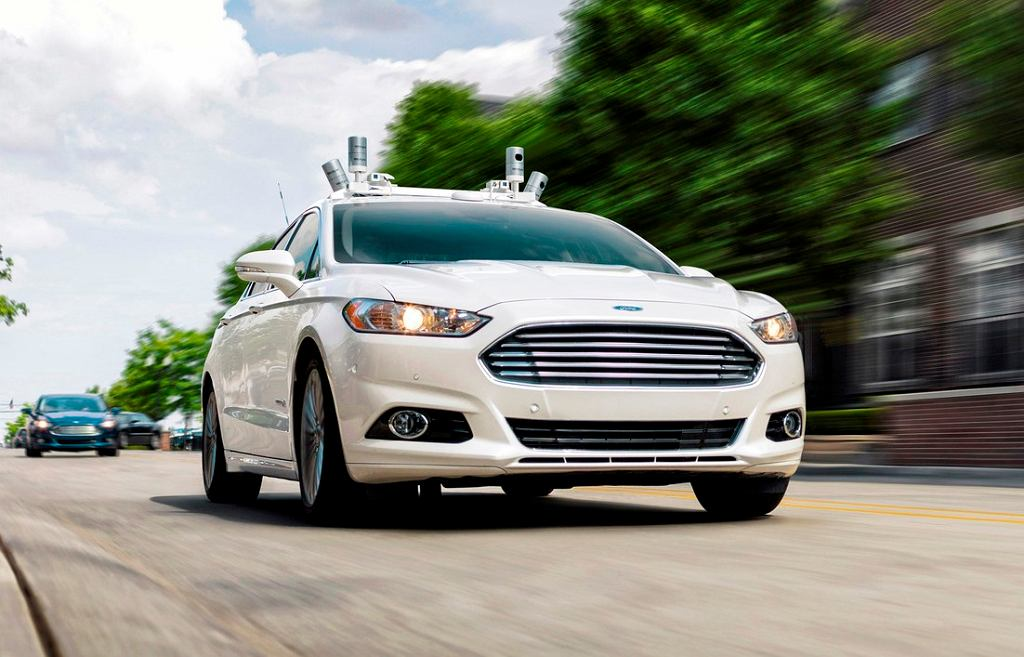 Autonomiczny Ford Fusion
