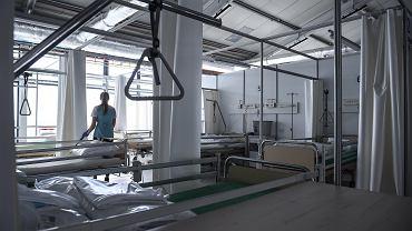 Koronawirus. Szpital tymczasowy we Wrocławiu - zdjęcie ilustracyjne