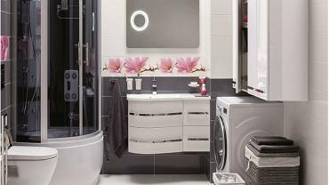 Uporządkowana przestrzeń w łazience