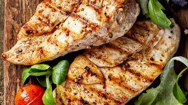 Białko w diecie - grillowany kurczak