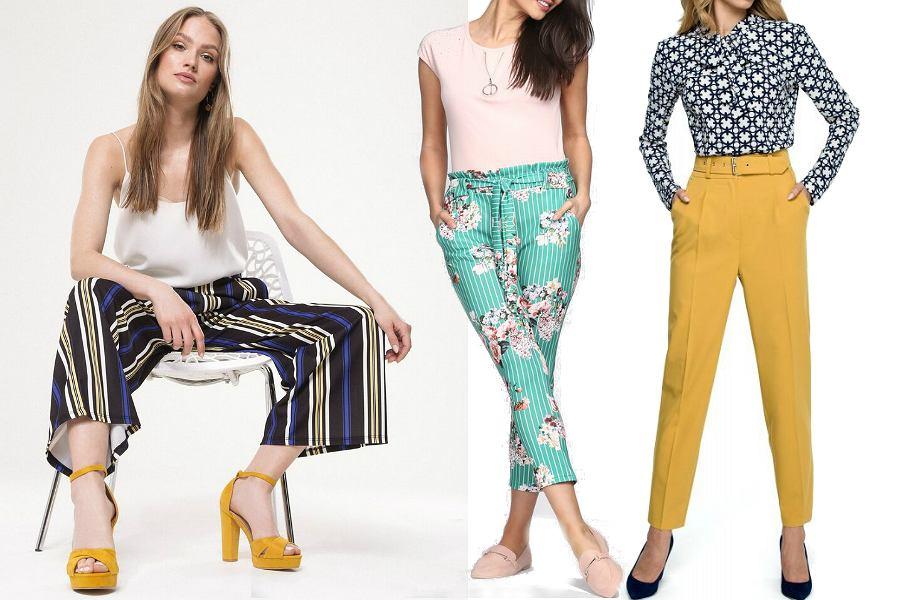 Spodnie na wiosnę