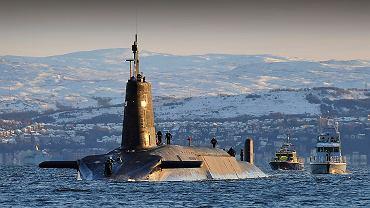 Brytyjski atomowy okręt podwodny typu Vanguard