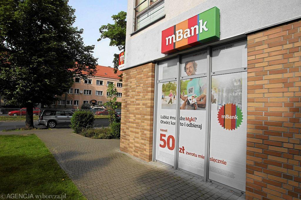 mBank w Szczecinie.