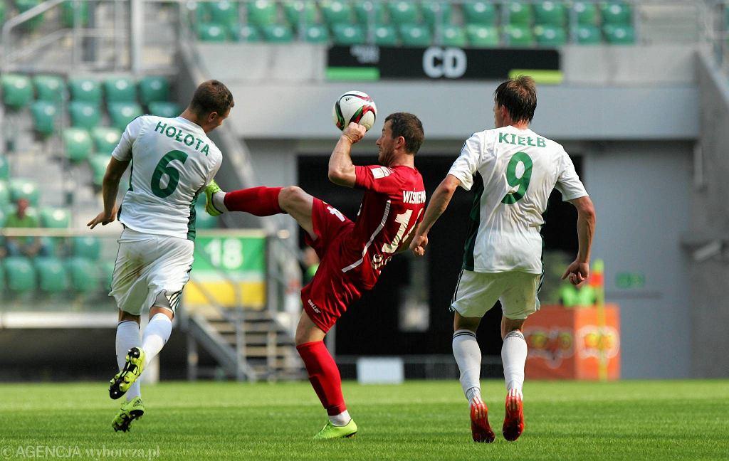 Śląsk - Lechia 0:0. Piotr Wiśniewski