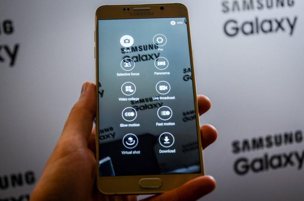Nowe funkcje wideo w Galaxy Note 5