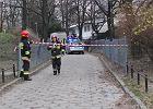 Śmiertelny wypadek na Żoliborzu. Samochód dostawczy potrącił kobietę