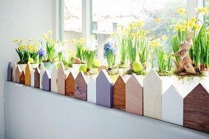 Zrób to sam: wiosenno-wielkanocny ogródek
