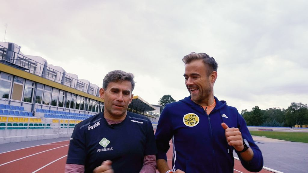 Robert Korzeniowski i Damian Bąbol