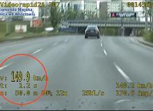 Jechał 149 km/h po Wrocławiu. Chciał sprawdzić, czy mechanik dobrze naprawił mercedesa
