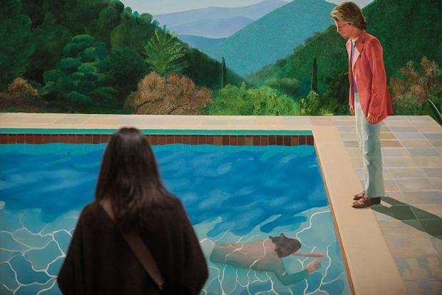 Wystawę 'David Hockney. Sześćdziesiąt lat pracy' można oglądać w londyńskim Tate Britain do końca maja