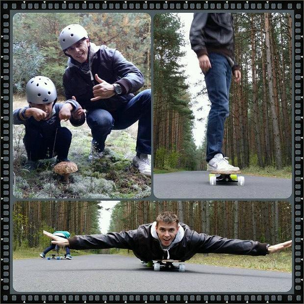 Mariusz Wlazły z synkiem