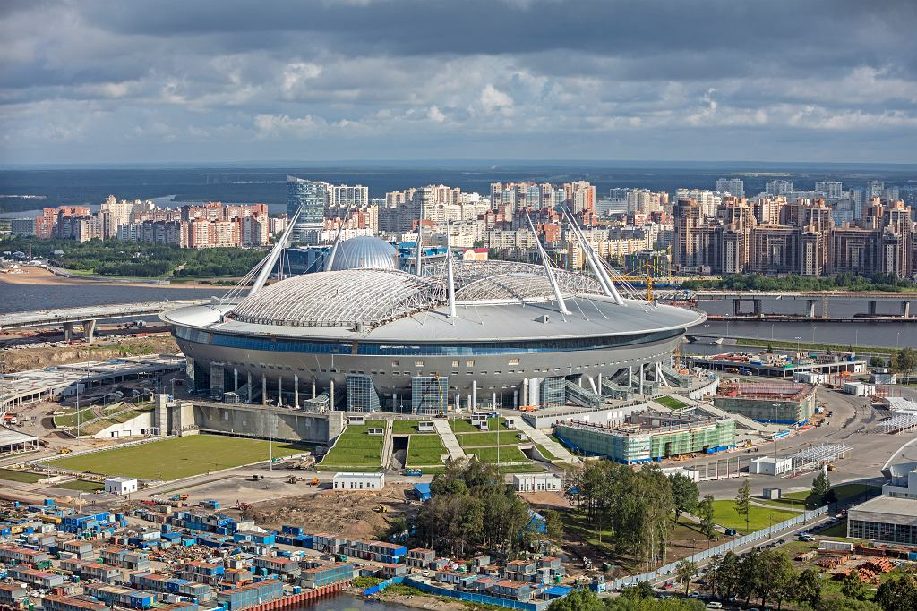 Euro 2020. Stadion w Sankt Petersburgu. Co wiemy o obiekcie, na którym zagrają Polacy?