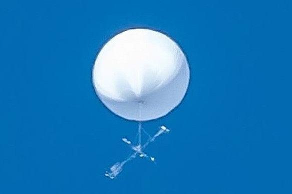 Nad Japonią pojawił się tajemniczy balon