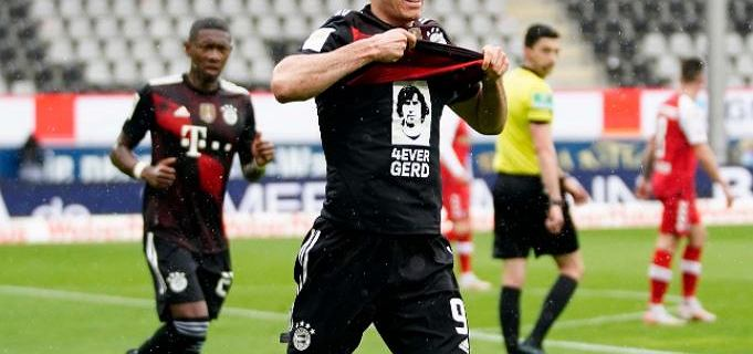 Lewandowski był traktowany przez kolegów aż do granic absurdu. Pobicie rekordu nie było mu pisane tym razem