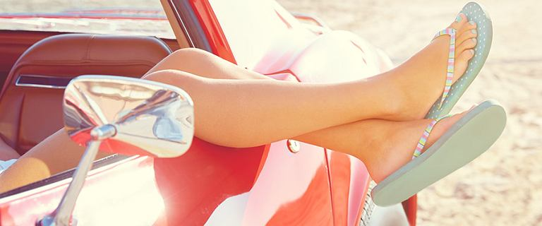 Najwygodniejsze japonki damskie w świetnym stylu! Modele idealne na plażę i na co dzień