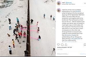 """Na granicy USA i Meksyku pojawiły się huśtawki. Połączyły dzieci z obu krajów. """"Jedno z najlepszych doświadczeń"""""""