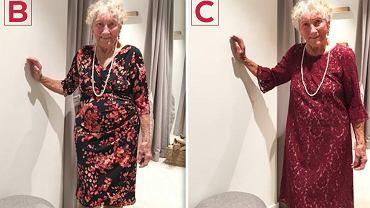 Seniorka poprosiła o pomoc w wyborze sukni... internautów.