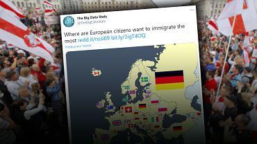 Białorusini ciągną do Polski. Pracować i żyć