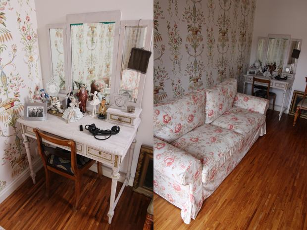 Zdjęcie numer 4 w galerii - Odeta Moro pokazała dom. Jest pełen oryginalnych i wiekowych dodatków.  Nigdy nie zgadniecie, co postawiła w łazience