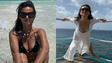 48-letnia Kinga Rusin chwali się umięśnionym ciałem na wakacjach. Fani: 'Jak bogini!'
