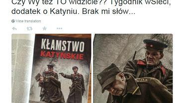 """Okładka dodatku historycznego do """"wSieci"""""""