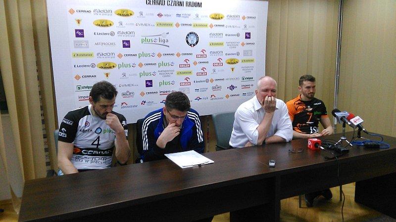 Konferencja prasowa po meczu Cerrad Czarni Radom - Jastrzębski Węgiel 3:0