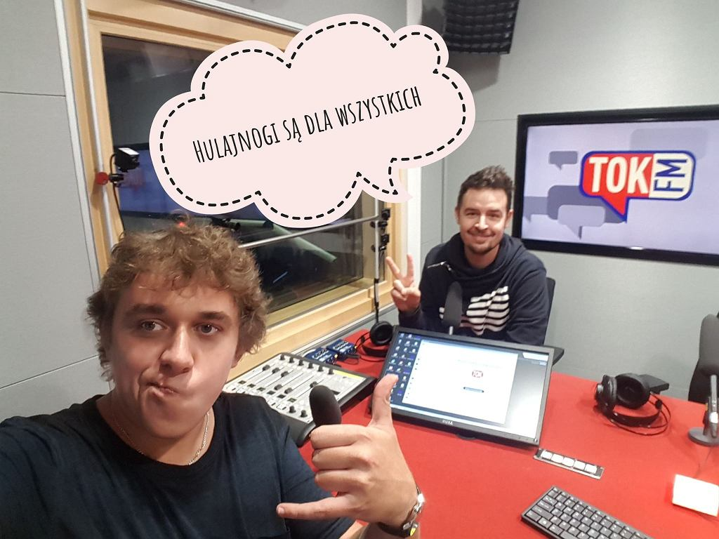 Kuba Klawiter i Karol Jurga w studio tokfm.pl