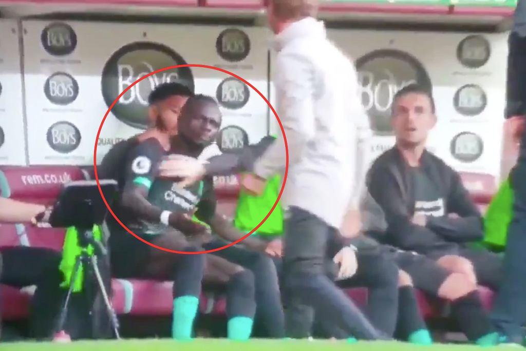 Sadio Mane był wściekły na Mohameda Salaha