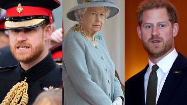 Książę Harry, Elżbieta II