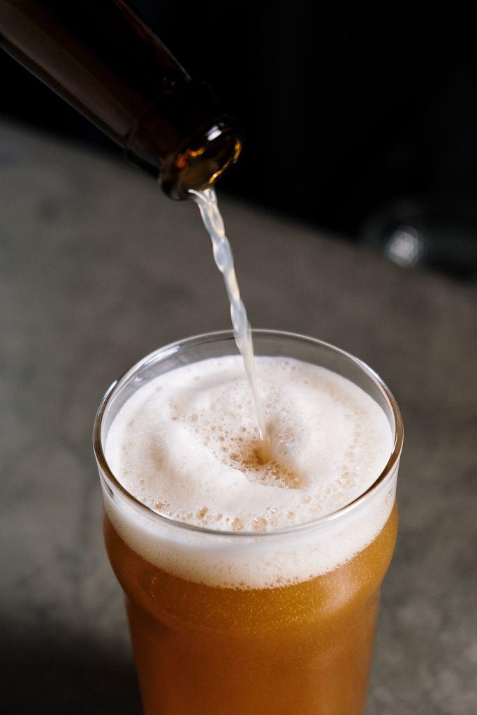 Piwo z pianką