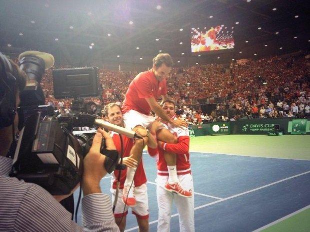 Szwajcarzy, Puchar Davisa