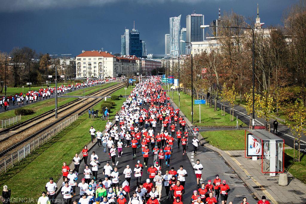 Bieg Niepodległości w 2017 r. - jedna ze stałych imprez organizowanych 11 listopada