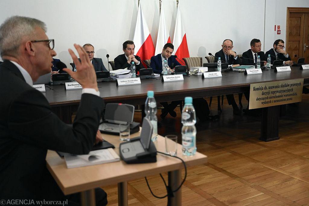 Posiedzenie komisji weryfikacyjnej (fot. Sławomir Kamiński / Agencja Gazeta)