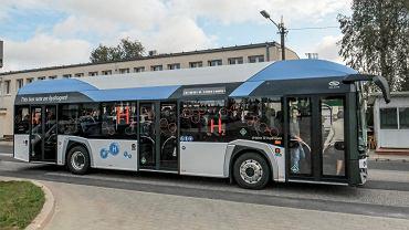 Prezentacja autobusu wodorowego Solaris Urbino 12 hydrogen w Poznaniu