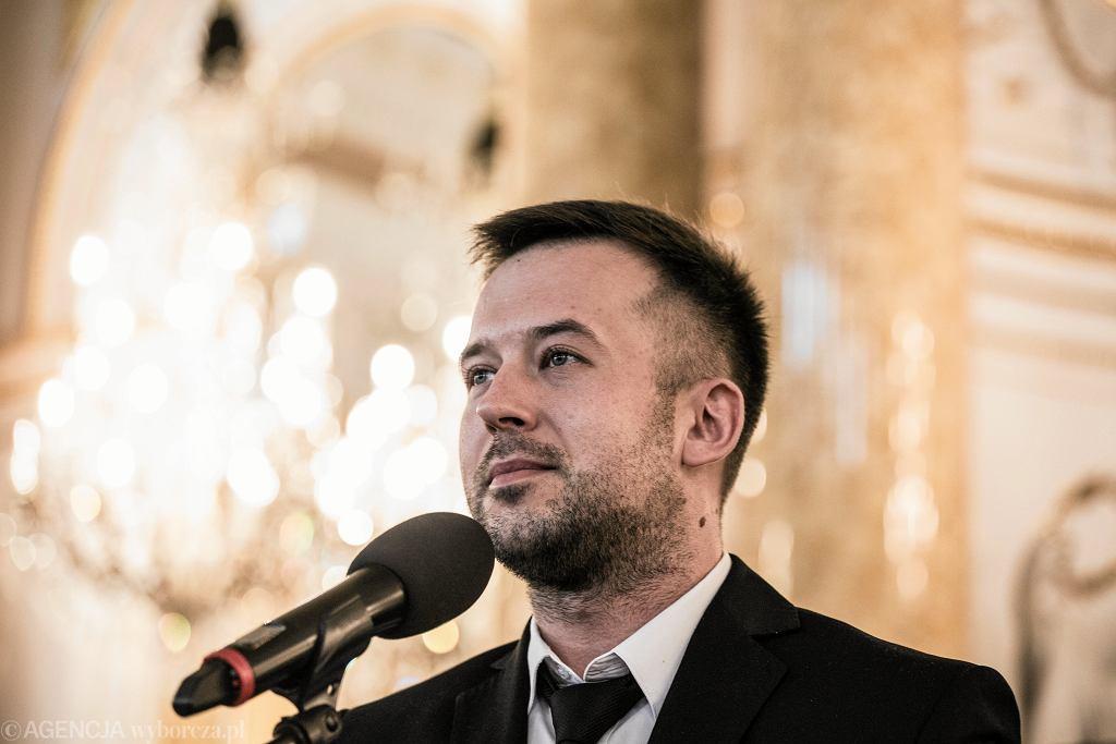 Nauczyciel Roku 2018 Przemysław Staroń