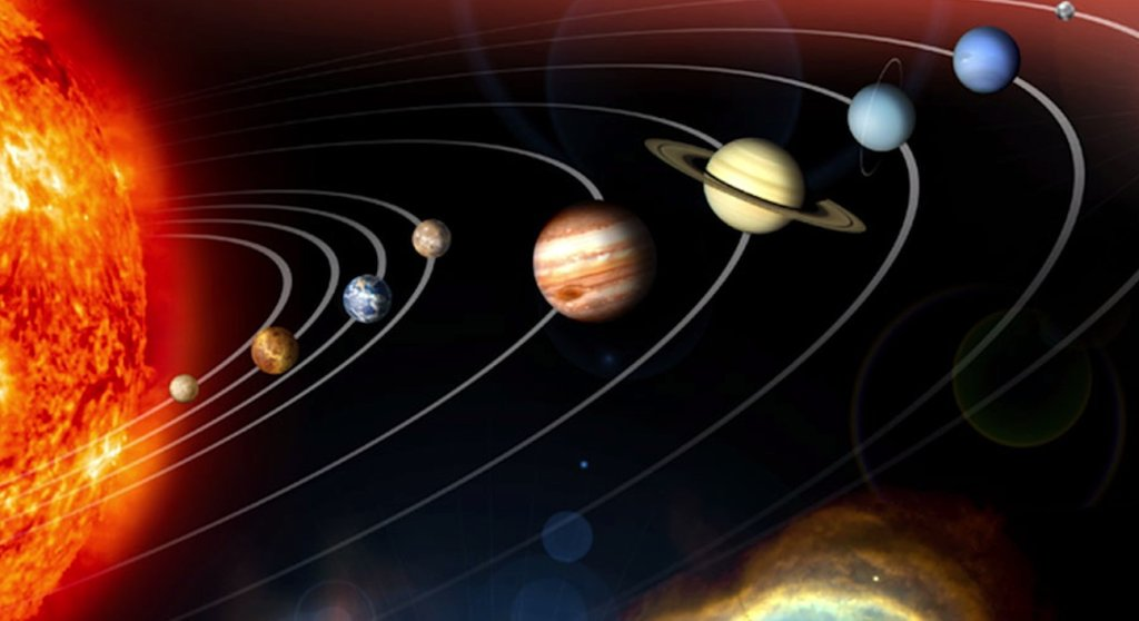 Model Układu Słonecznego w rzeczywistej skali