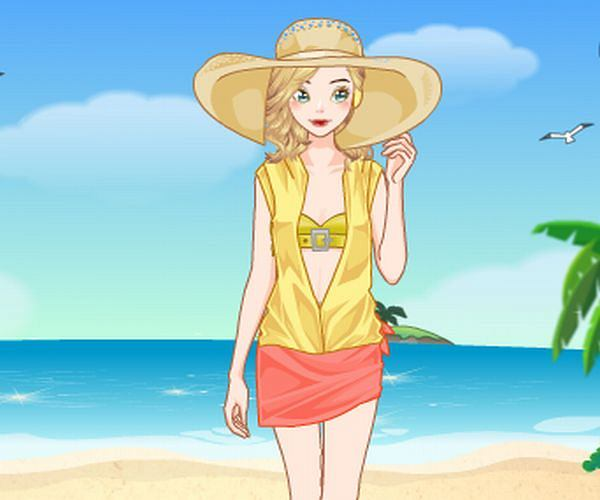 Ubieranka: Czas na plażę