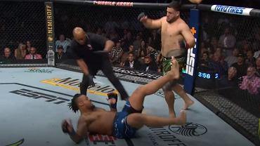 Tuivasa wygrywa na UFC