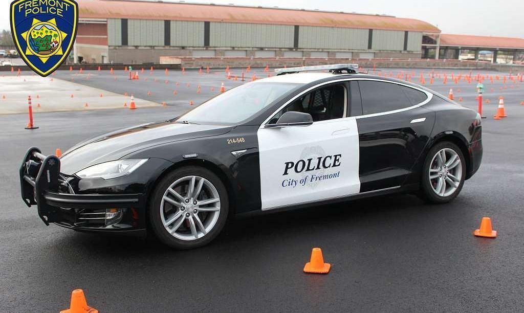 Radiowóz marki Tesla